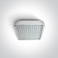 7058/W/D WHITE LED SURFACE 120W DL IP65 100-240V