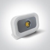 7066/W/C WHITE COB LED 30W CW IP65 100-240V