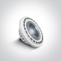 7315G/C/45 LED R111 GU10 13w CW 45deg 230V
