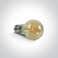 9G03RAD/A/E RETRO LED 6,5W AMBER E27 230V DIMMABLE