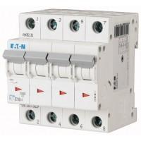 Миниатюрен автоматичен прекъсвач PL7, 4P, 16A, 10kA, C