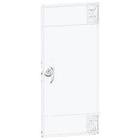 Непрозрачна врата за интерфейс за открит монтаж, титаниево бяло, 1 ред