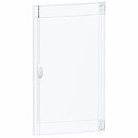 Прозрачна врата с възможност за персонализиране за табла за вграден и открит монтаж 4 x 18, кристал