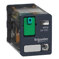 Силово реле RPM 2 З/О 12 V DC 15 A със светодиод