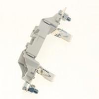 Основа за стопяем предпазител, LV, 250 A, AC 690 V, NH1, 1P, IEC, монтаж на монтажна плоча
