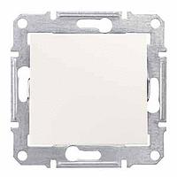 Двуполюсен ключ 16 АX – 250 V AC,  , Крема