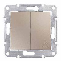 Сериен ключ 10 A – 250 V AC, Титаний