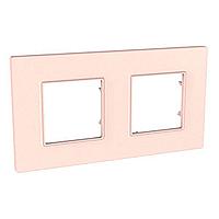 Двойна рамка Unica Quadro Перла, Сьомга