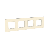 Четворна рамка Unica Quadro Перла, Перла