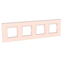 Четворна рамка Unica Quadro Перла, Сьомга