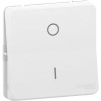 Mureva Styl - 2-pole switch - flush & surface mounting - white