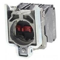 Завършен контактен блок с фиксираща втулка в тялото 1 N/O + 2 N/C