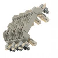 Основа за стопяем предпазител, LV, 160 A, AC 690 V, NH00, 1P, IEC, монтаж на DIN шина и на монтажна плоча