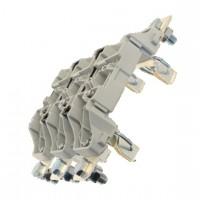 Основа за стопяем предпазител, LV, 250 A, AC 690 V, NH1, 3P, IEC, монтаж на DIN шина