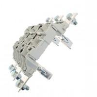 Основа за стопяем предпазител, LV, 400 A, AC 690 V, NH2, 3P, IEC, монтаж на DIN шина