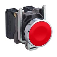Пусков бутон (1 N/C) без маркировка, червен