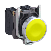 Пусков бутон (1 N/O) без маркировка, жълт