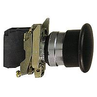 Бутон стоп-гъба (1 N/O) черен – ATEX