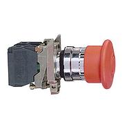 Аварийна стоп-гъба (1 N/O + 1 N/C) червена - ATEX