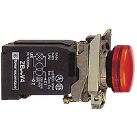 Контролна лампа 110 -120 V AC, червена