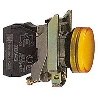 Контролна лампа 24 V AC/DC, оранжева - ATEX