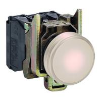 Контролна лампа 230 -240 V AC, бяла