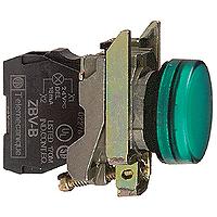 Контролна лампа 230 -240 V AC, зелена