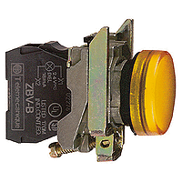 Контролна лампа 230 -240 V AC, оранжева - ATEX