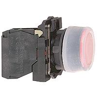 Бутон с прозрачен силикон и гумено уплътнение 1 N/C, без маркировка, червен