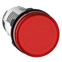 Сигнална лампа с вграден LED 24 V AC/DC, червен