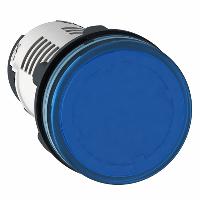 Сигнална лампа с вграден LED 230 V AC, син
