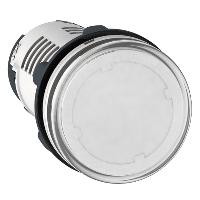 Сигнална лампа с вграден LED 24 V AC/DC, прозрачен