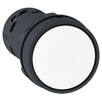 Пусков бутон (1 N/O) бял, без маркировка