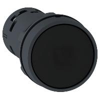 Пусков бутон (1 N/O) черен, без маркировка