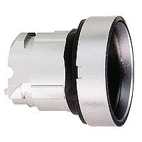 Черен бутон с вградена глава с вързвръщаема пружина, без маркировка