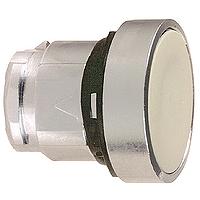 Сив бутон наравно с повърхността с вързвръщаема пружина без маркировка
