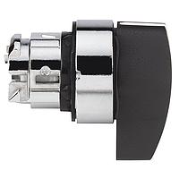 Черна превключваща глава, възвръщаема пружина от ляво до центъра, дълга дръжка 3 позиции +/- 45°