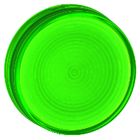 Вдлъбната леща за сигнална лампа за крушка BA 9s, Green